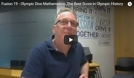 Olympic Dive Mathematics