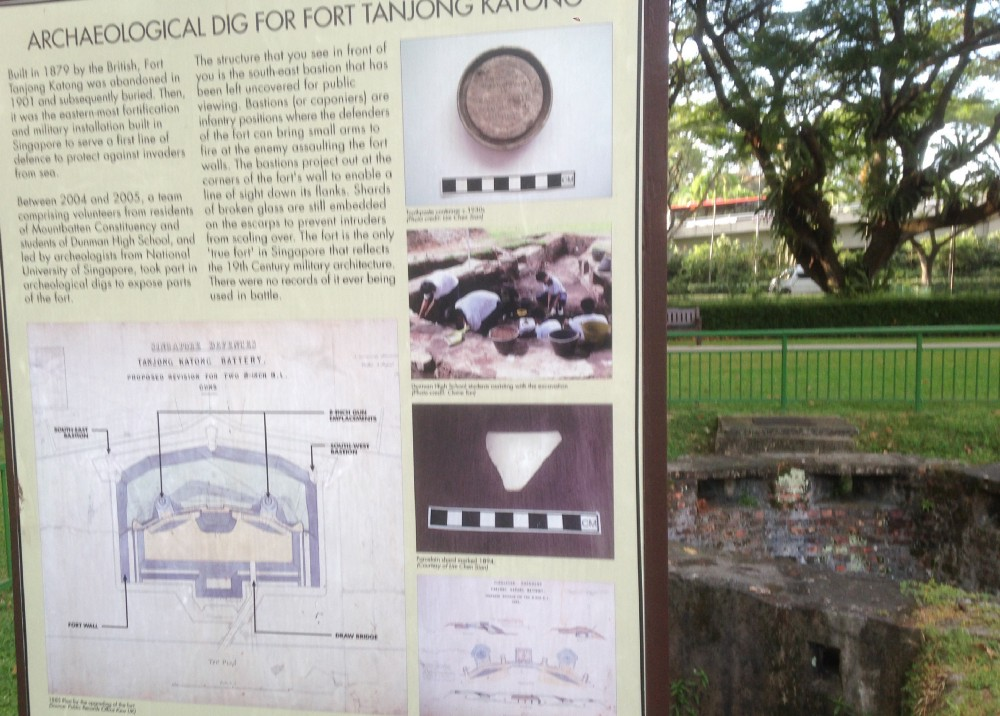 Fort Road archaeology site, Singapore